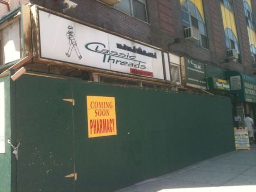 Lenox Avenue corner in Harlem becoming a pharmacy?