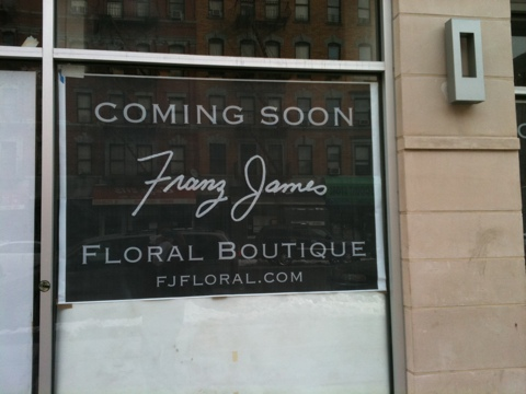 Franz James Floral Boutique to blossom in Harlem