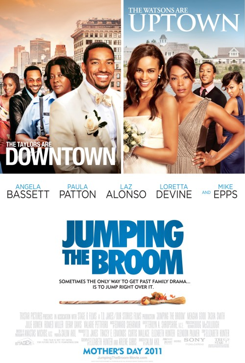 jtb prod 1sht 2 2 8 11 Girls Night Out screening of Jumping the Broom happening in Harlem