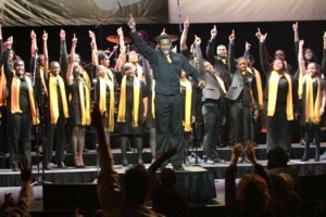 Gospel for Teens Choir in Harlem profiled on ABCs This Week with Christiane Amanpour