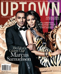One of Harlem's A List couples graces the cover of Uptown Magazine