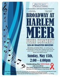 Dont miss Broadway at Harlem Meer