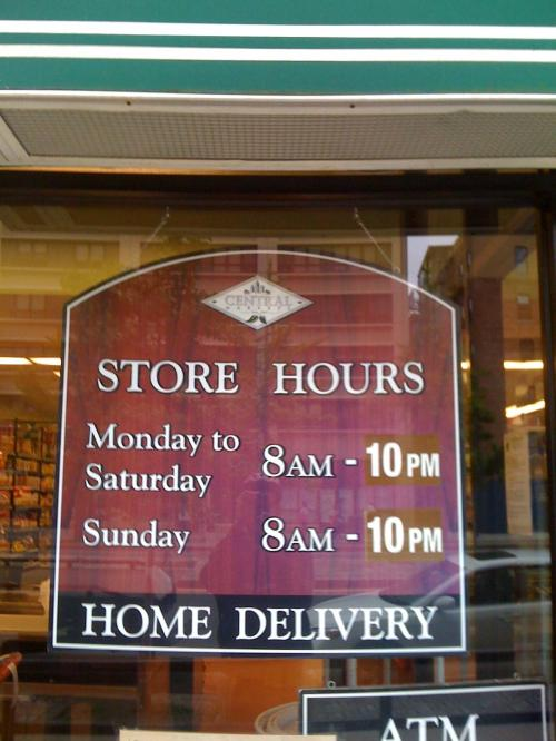 Central's Competitive Hours
