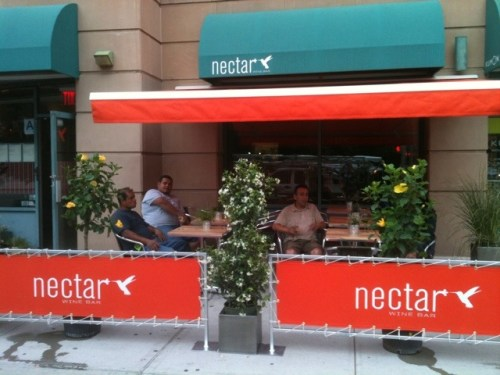 20110605 093812 Sidewalk seating available at Nectar in Harlem