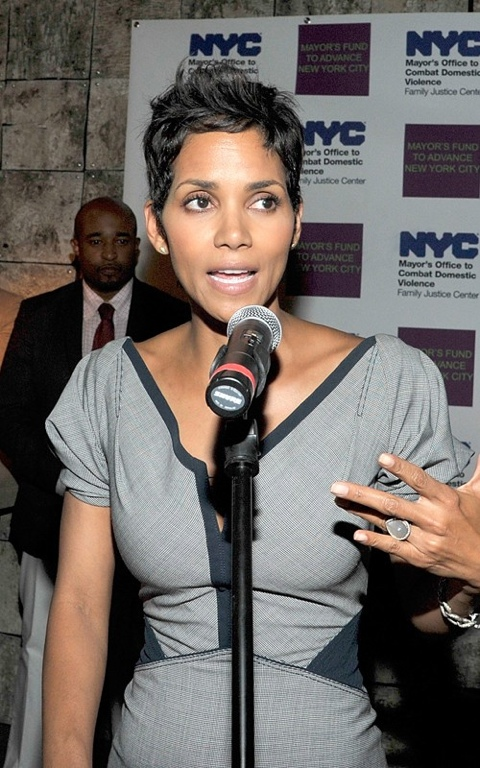 Halle Berry spotted in Harlem