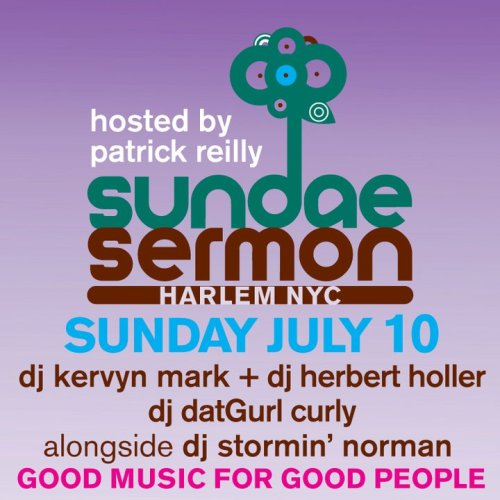 Sundae Sermon this Sunday July 10th (Harlem)