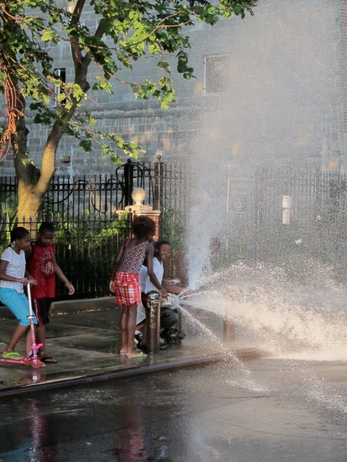 Cooling Down When Harlem Is Heating Up