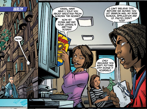 alg two pannels DC Comics Hero (now) lives in Harlem
