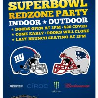 HARLEM TAVERN SUPER BOWL REDZONE PARTY