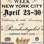 Bier International – German Beer Week April 23-30th