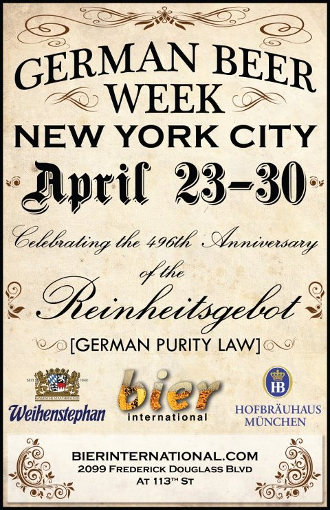 Bier International   German Beer Week April 23 30th