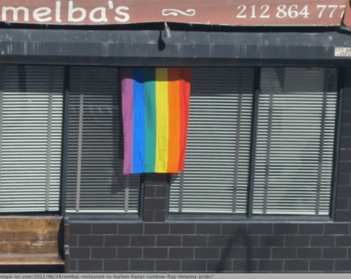 A Gay Pride Day Thank You To Melbas In Harlem
