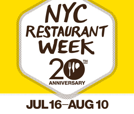 Restaurant Week Begins Today!