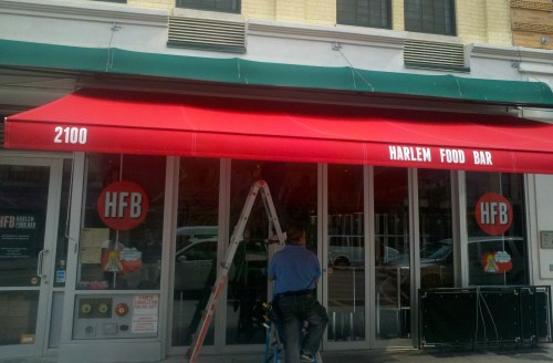 Harlem Food Bar Just Got Even Better   New Awning