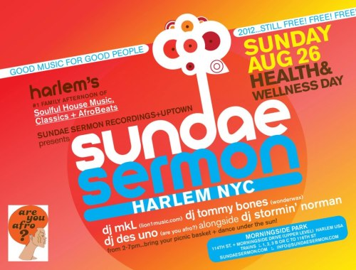 Sundae Sermon August 26th!