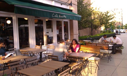 Cafe Amrita Now Has Outdoor Seating
