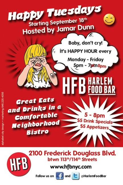 Happy Tuesdays at HFB Hosted by Jamar Dunn