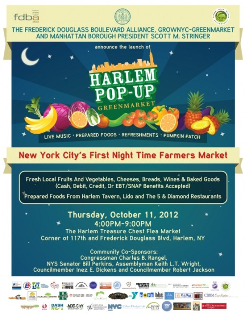 New York Citys First Night Time Farmers Market   This Thursday!