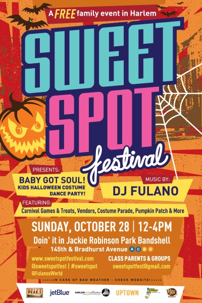 Sweet Spot Festival BABY GOT SOUL! Halloween Kids Party