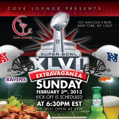 SUPER BOWL XLVII In Harlem!! Where To Go