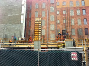 Progress at 240 Manhattan Avenue Condominium in Harlem