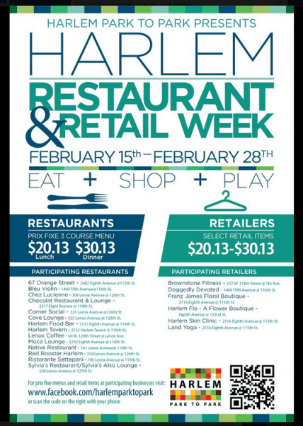 4th Annual Harlem Restaurant & Retail Week