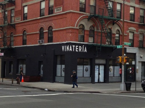 VINATERIA   Opening Soon on Restaurant Row in Harlem