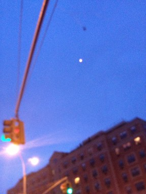 UFOS over Harlem???