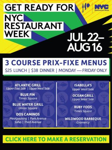 NYC Summer Restaurant Week Starts Today   Harlem
