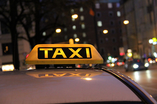 Taxi, Nachtfahrt