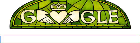Happy Saint Patrick's Day! (Google Doodles)
