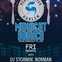 Harlem Nights / Midnight Brunch every Friday at Red Rooster and Ginny's