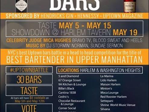 Harlem's Battle of the Bars is back!