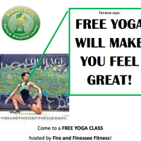 FREE YOGA CLASS hosted by Fire and Finesse Fitness