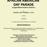 45th Annual African American Day Parade Sunday Sep 21