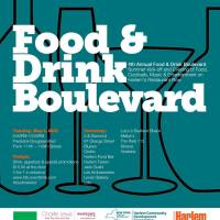 Food & Drink Boulevard TONIGHT on Harlem Restaurant Row
