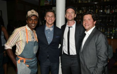 Chef Marcus Samuelsson Neil Patrick Harris Herb Karlitz_Photo  Credit Getty Images for Harlem EatUp!