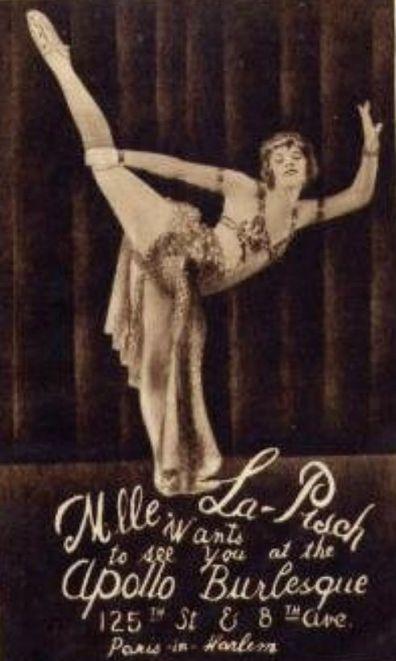 Apollo burlesqu with Mille la pisch