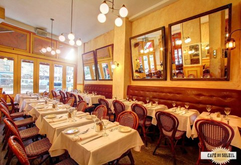 Cafe du Soleil Interior