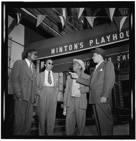 Jazz-Musicians-In-Front-of-Mintons-Playhouse-Untapped-Cities