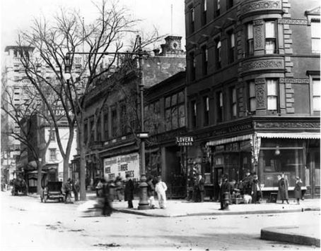 109th and broadway 1910