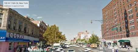 shooting at 110th street and lenox avenue