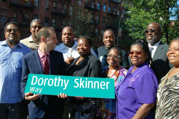 Dorothy Skinner Street Naming In Harlem