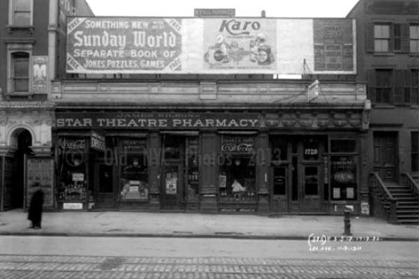 1718 / 1720 Lexington Avenue, Harlem, NY 1911