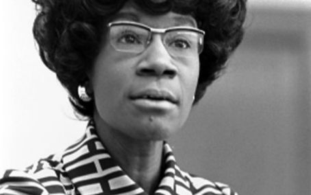 Shirley Chisholm 1970s