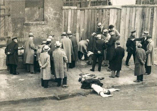 harlem mobsters shoot each other over shotting wife