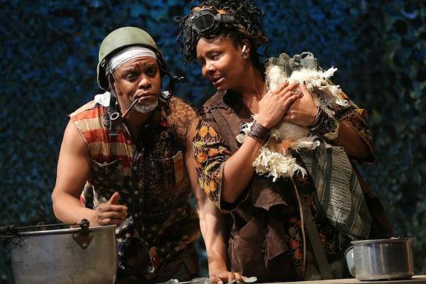 Kevin Mambo and Tonya Pinkins_Photo by Joan Marcus