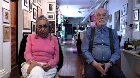 camille billops and hatch in harlem