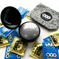 NYC Health Dept Celebrates Valentine's Day And National Condom Awareness Day