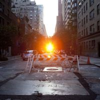 Check Out The Dates For Manhattanhenge 2016